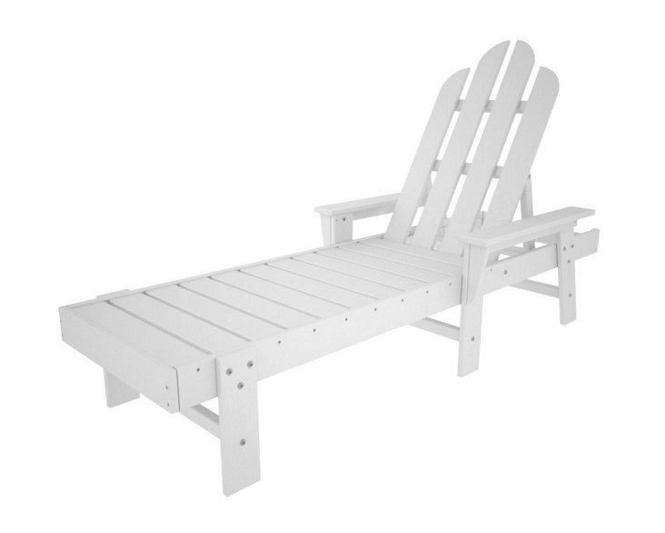 Hyannis Chaise, White