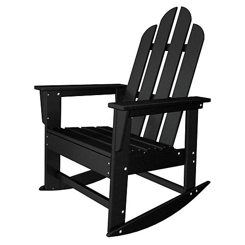 Long Island Rocker, Black