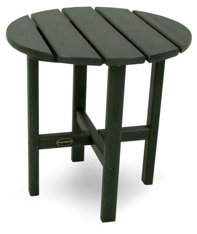 Classic Side Table, Green