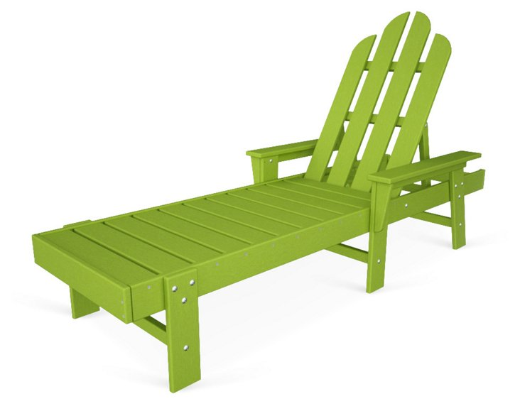 Hyannis Chaise, Lime