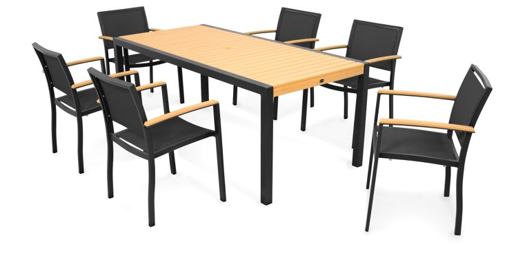 Black Bay 7-Piece Dining Set