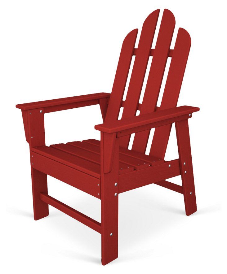 Brewster Dining Chair, Red