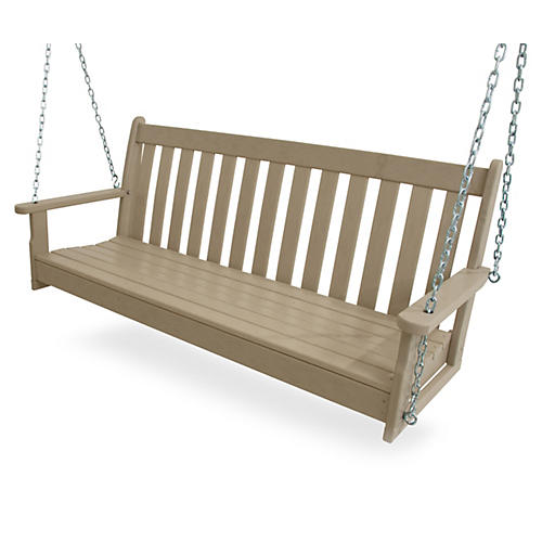 "60"" Vineyard Swing, Sand"