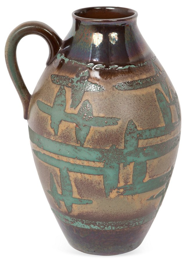 Ceramic Pitcher-Style Vase