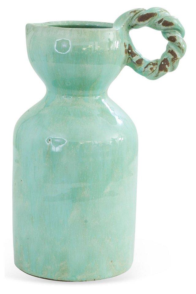 Celadon Ceramic Water Pitcher