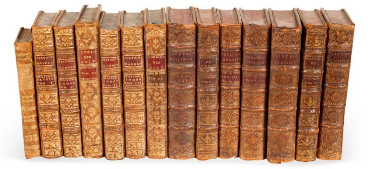 French Books, Set of 14