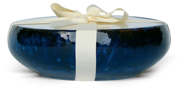 12-Wick Mission Blue Candle, Unscented