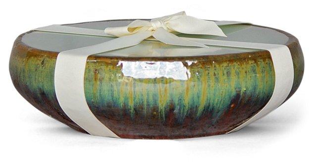 12-Wick Sunburst Candle, Pear