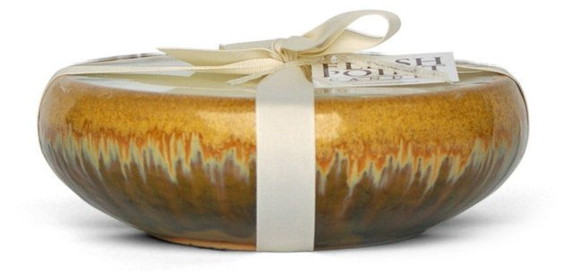 6-Wick Gold Candle, Unscented