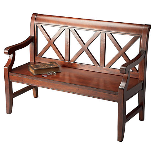 Wren Bench Walnut