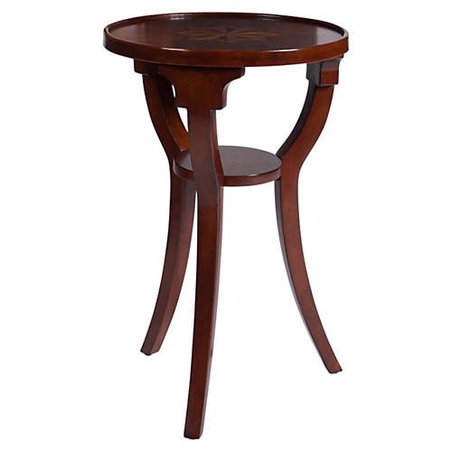 Mitchell Side Table, Cherry Finish