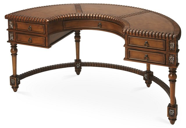 Warren Demilune Desk