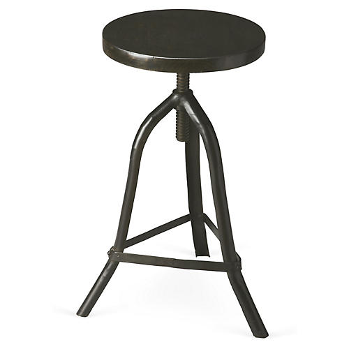Hollis Stool, Black