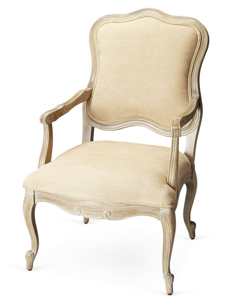 Eversman Accent Chair, Oatmeal