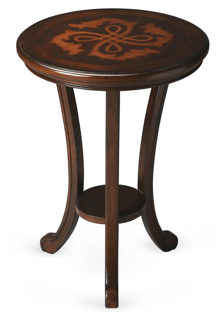 Caroline Accent Table, Mahogany