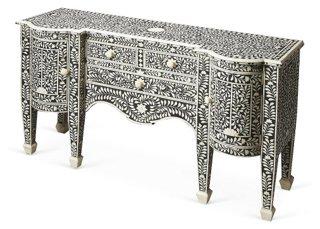 Bianca Bone Inlay Sideboard, Charcoal   Buffets U0026 Sideboards   Dining Room    Furniture | One Kings Lane