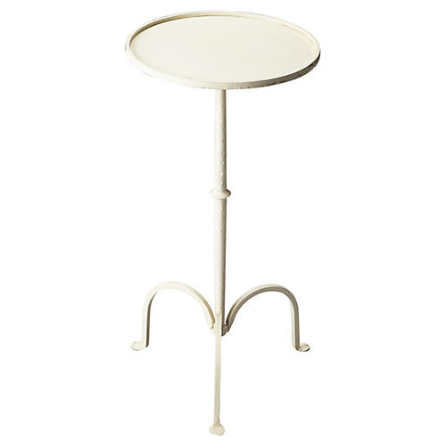 Emma Side Table, White
