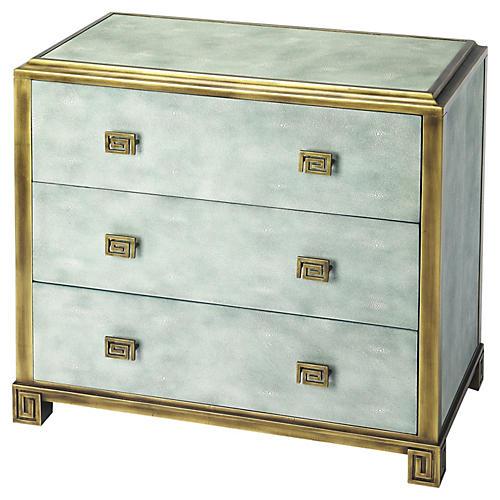 Isabella 3-Drawer Dresser, Blue