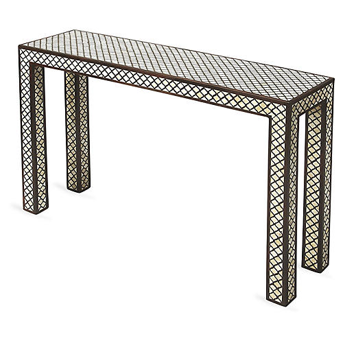 Pilley Console, Ivory