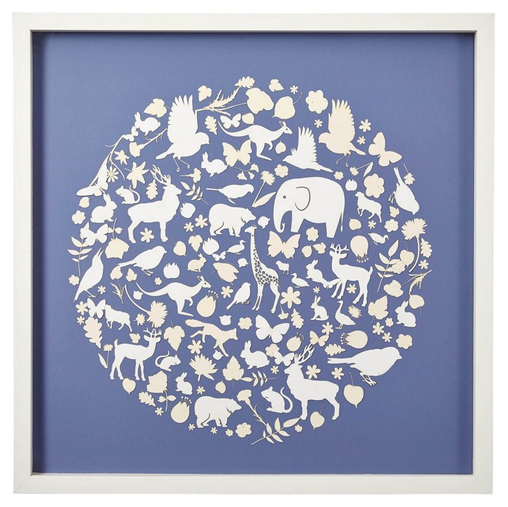 Animals of the World, Blue