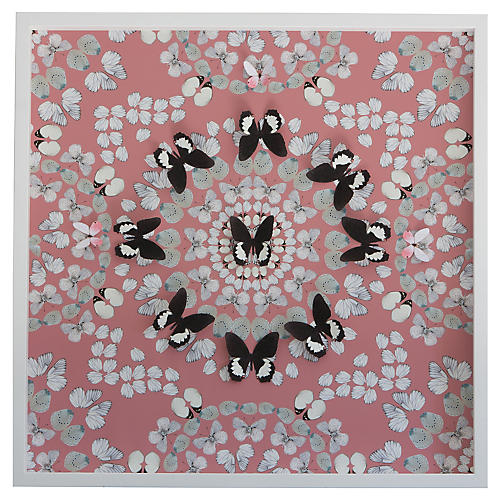 Dawn Wolfe, Butterfly Construction: Pink