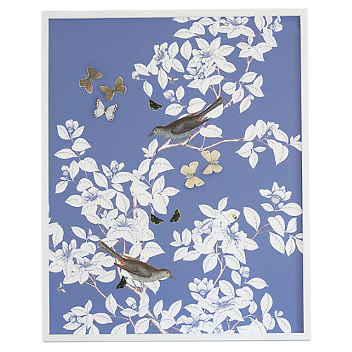 Dimensional Chinoiserie: Periwinkle, Dawn Wolfe