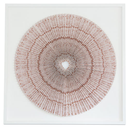 Dawn Wolfe, Pleated Blush Bandana