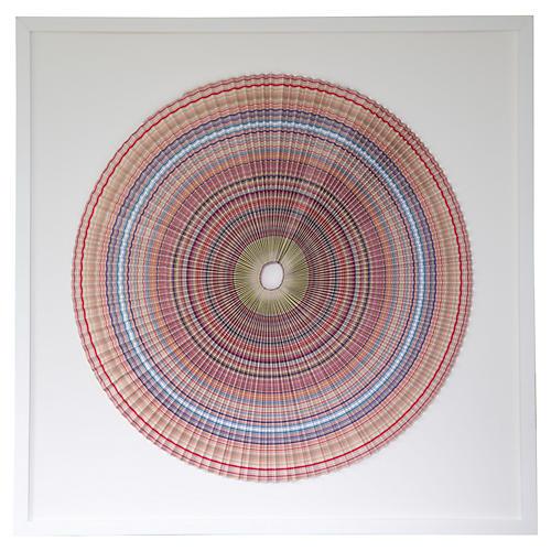 Pleated Stripes, Dawn Wolfe