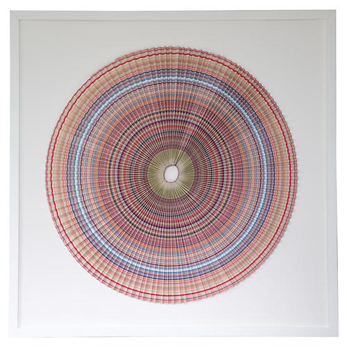 Dawn Wolfe, Pleated Stripes