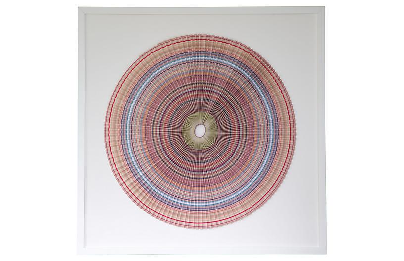 Dawn Wolfe, Pleated Stripes