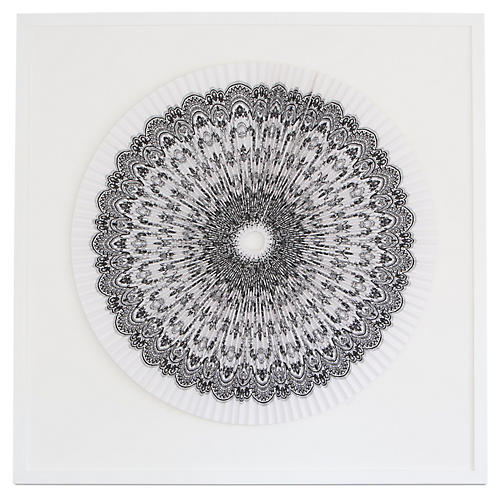 Pleated Lace, Dawn Wolfe