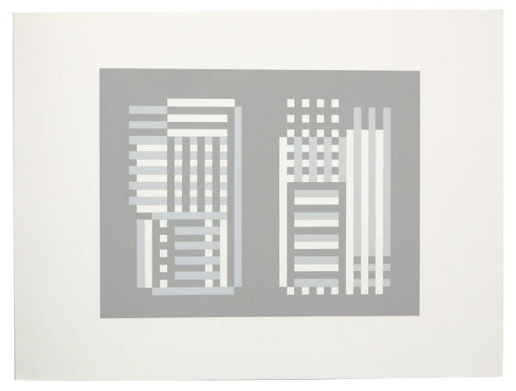 Josef Albers, Portfolio 2, Print 20