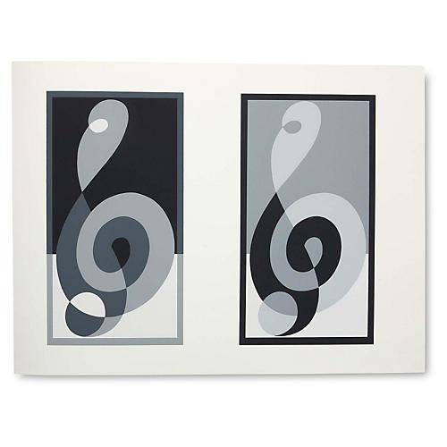 Josef Albers, Portfolio 1, Folder 16B
