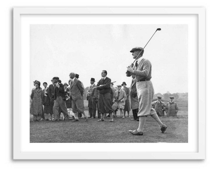 English Golfer Abe Mitchell 1931