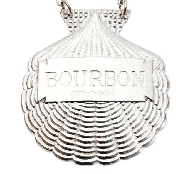 """Bourbon"" Sterling Liquor Label"