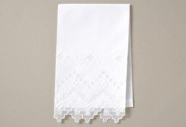 S/4 Mosaic Grape Guest Towels