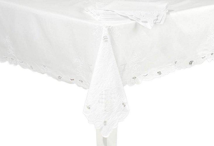 Florentine Tablecloth & 12 Napkin Set