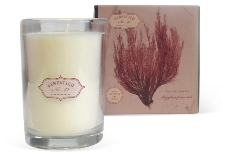 8 oz Boxed Candle, Coral