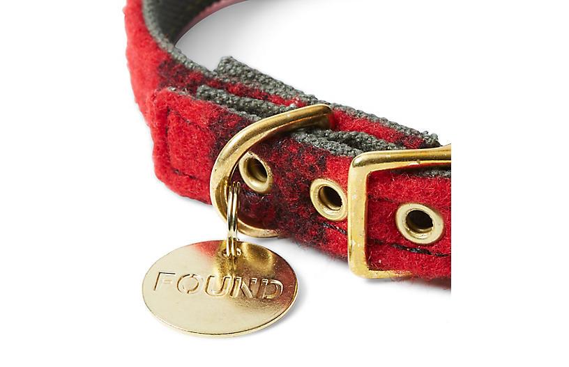 Buster Pet Collar Red Black Sale Decor One Kings Lane