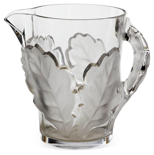 Lalique Chene Water Pitcher