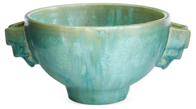 Fulper Art Deco Bowl