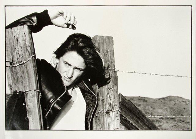 Young Sean Penn by Gisela Getty, 1976