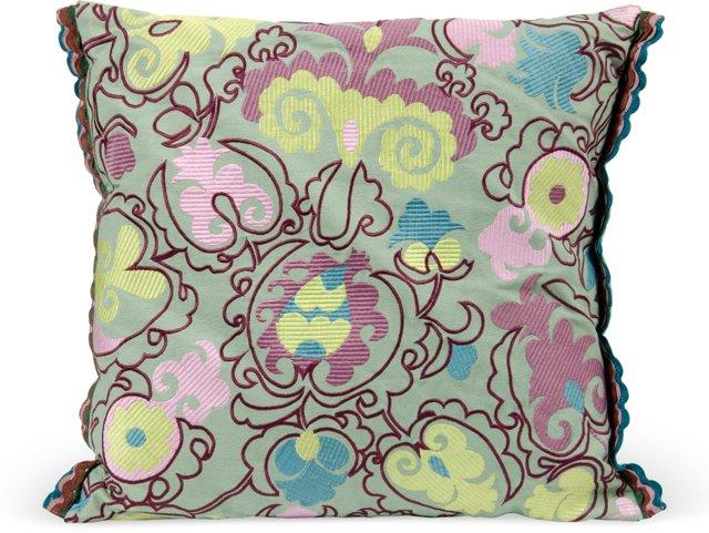 Applique Pillow I
