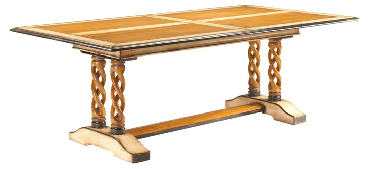"Colimacon 85"" Extension Table, Honey"