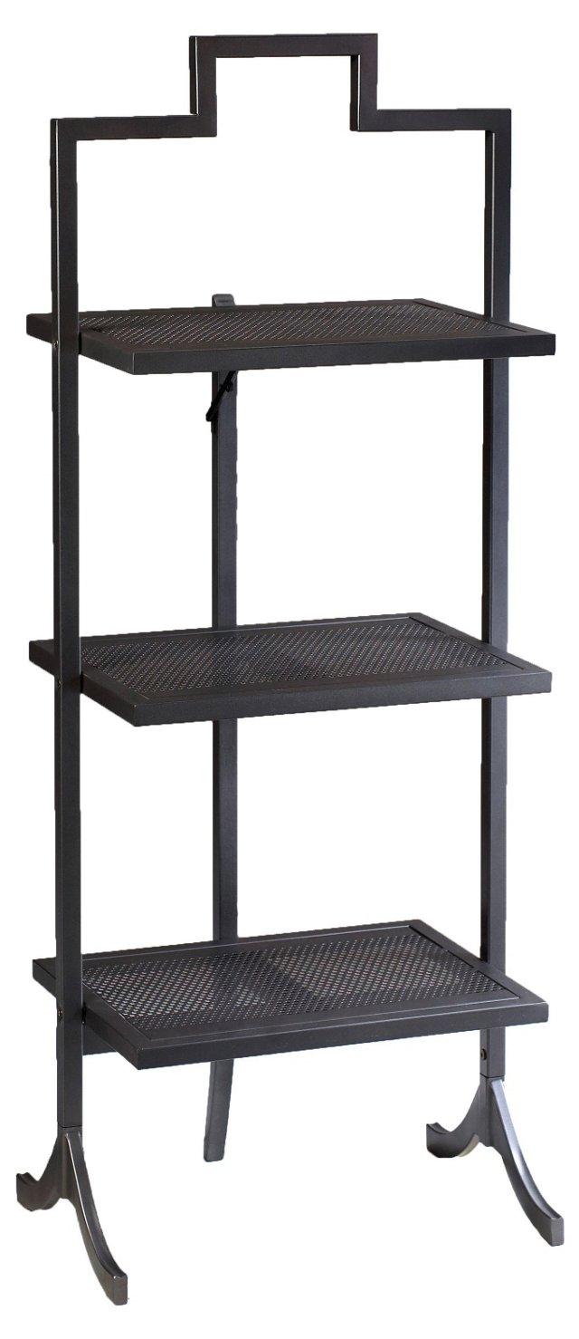 Large Ardmore Folding Table, Black