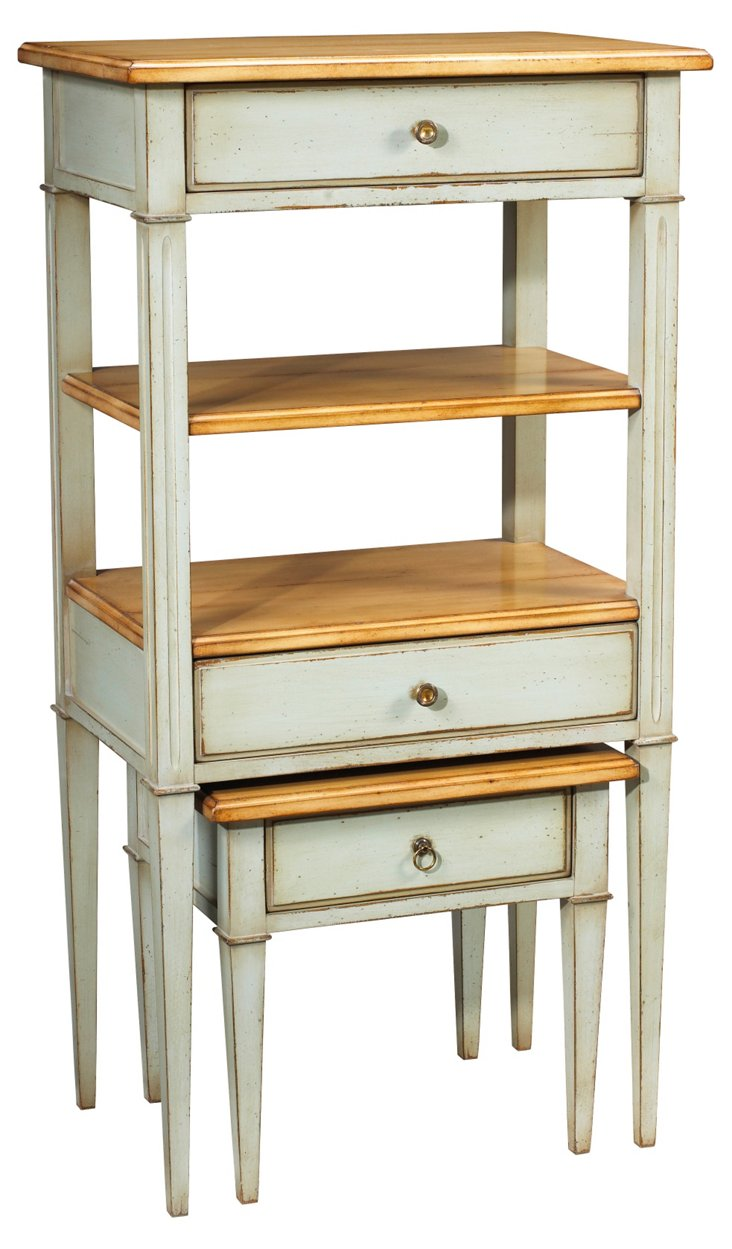 DNU, DISC LePonte Bookcase & Table