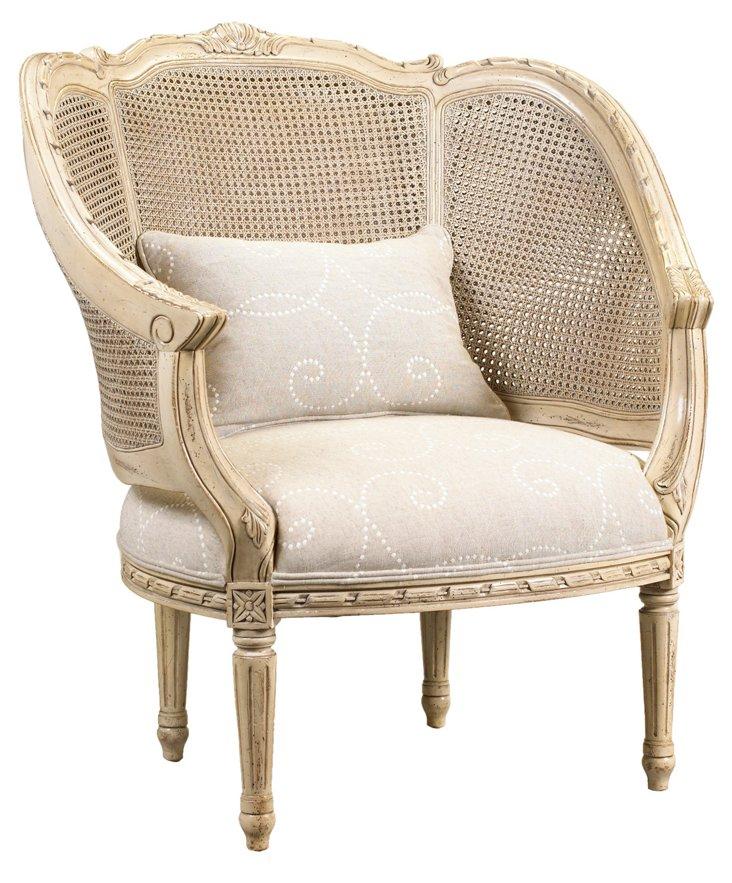 DNU, DISC Regent Armchair, Ivory