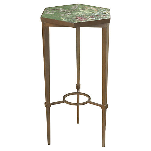 Birds & Blossoms Side Table