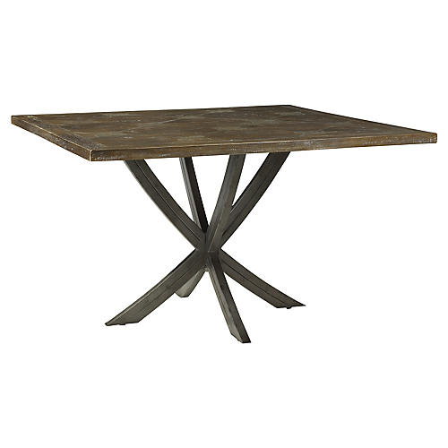 """Caruso 52"""" Dining Table, Timberwood"""