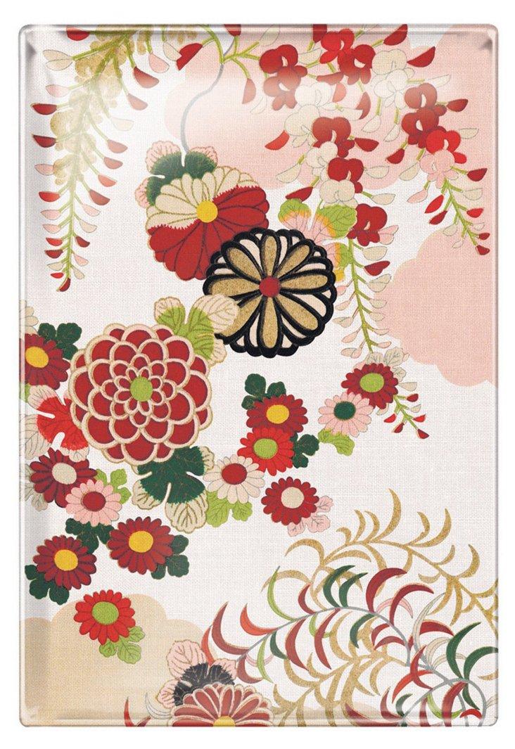12x9 Kimono Glass Tray